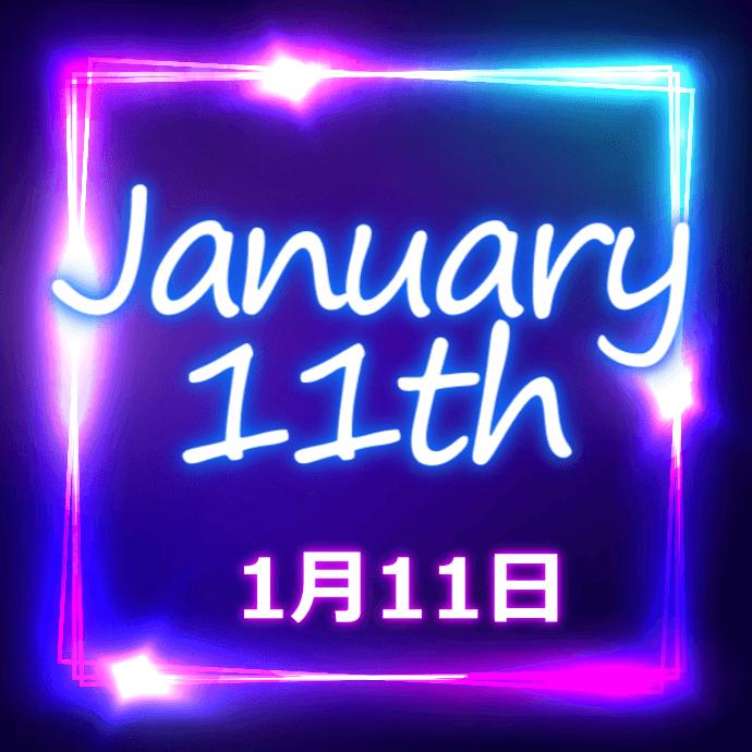 【誕生日占い】1月11日生まれの姫たち