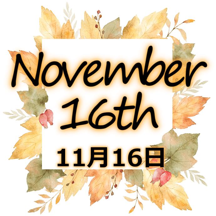 【誕生日占い】11月16日生まれの姫たち
