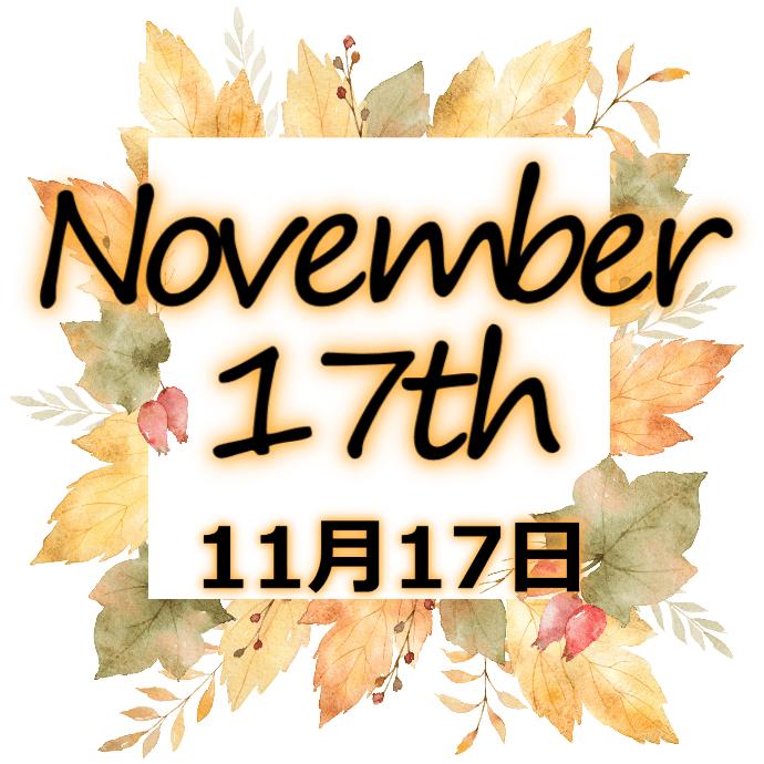 【誕生日占い】11月17日生まれの姫たち