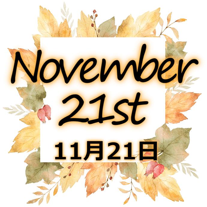【誕生日占い】11月21日生まれの姫たち