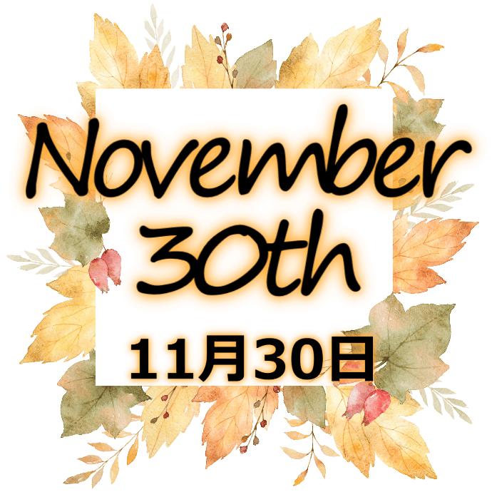 【誕生日占い】11月30日生まれの姫たち