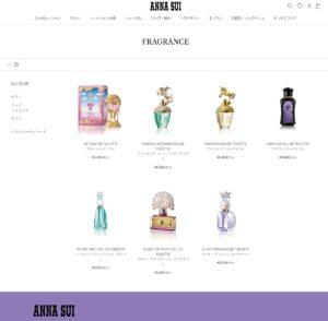 アナスイ公式オンラインショップ(クリックするとお買い物ができます)